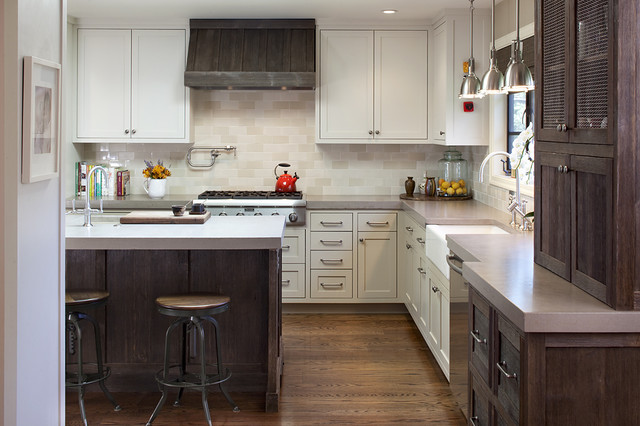 Woodside Residence traditional-kitchen