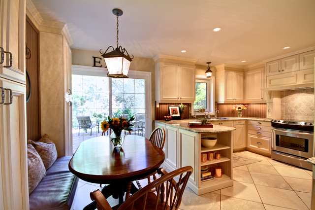 Richmond Hill Residence traditional kitchen