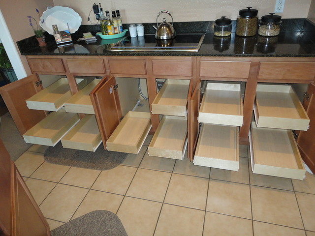 ... Pull Out Shelves Transitional Kitchen. Traditional Kitchen Cabinets  Traditional Kitchen