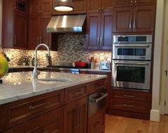 Elegant Oakton Kitchen Dazzles! traditional-kitchen