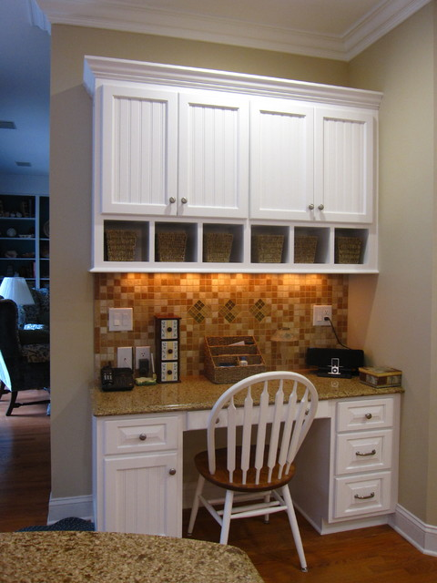 Chocolate Truffle, Caramel, Tea Leaves, and White - Great Colors for a Kitchen traditional-kitchen