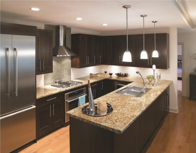 7732 Butterrum Granite Formica® Laminate traditional-kitchen