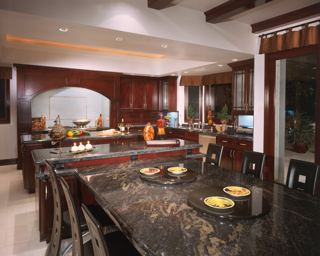 Kitchen Islands W Tables Attached