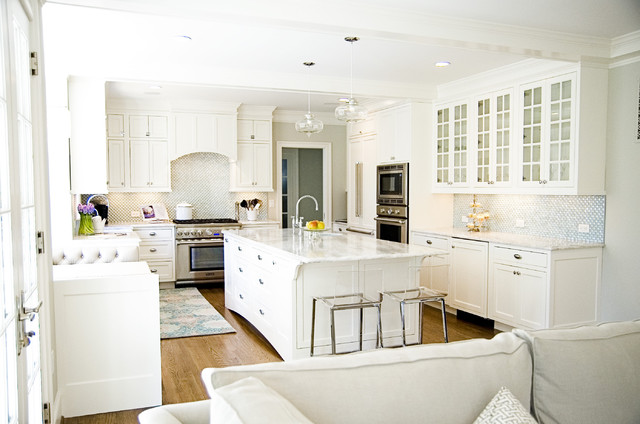 Example of a classic kitchen design in DC MetroWhite Princess Countertop   Houzz. Princess Design Kitchens. Home Design Ideas