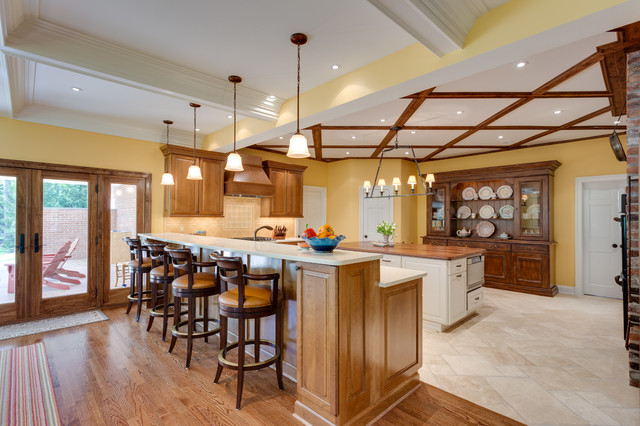 Traditional Kitchen In Potomac MD Traditional Kitchen Dc Metro By Re