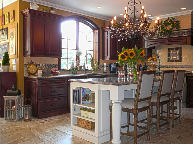 Traditional Kitchen In Sayville New York Traditional Kitchen New York By Fieldstone