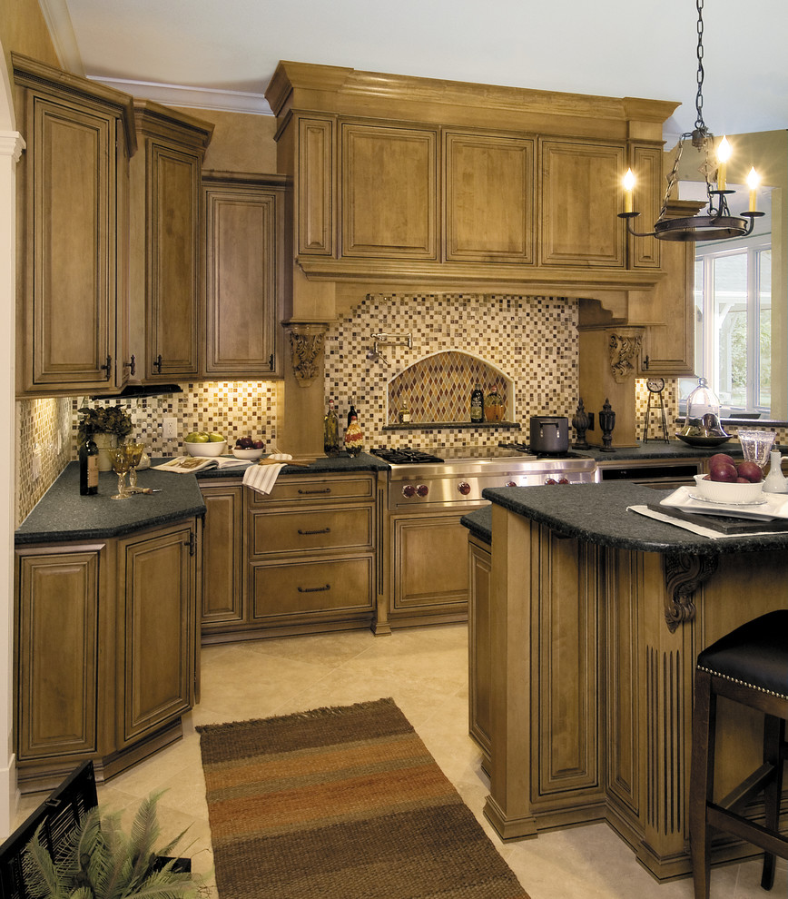 traditional kitchen in toledo, ohio - traditional