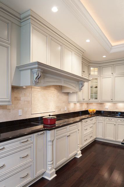 Traditional kitchen for Kitchen craft cabinets