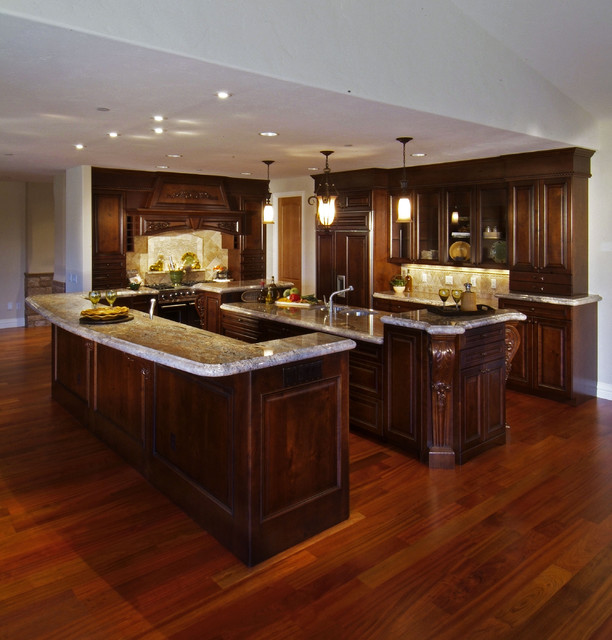 Old world kitchen designs traditional kitchen denver by kitchens by wedgewood - Luxurious traditional kitchen ideas ...