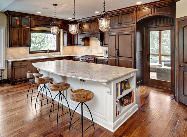 traditional kitchen by Lecy Bros Homes & Remodeling