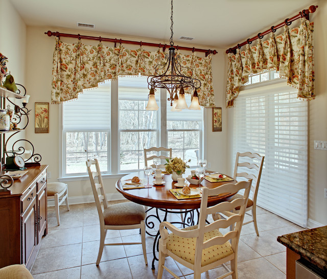 Kitchen Valances French Provincial Style Traditional Kitchen