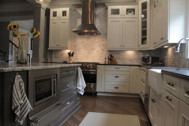 Cabinets Farmhouse Kitchen Other Metro By Marsh Kitchens