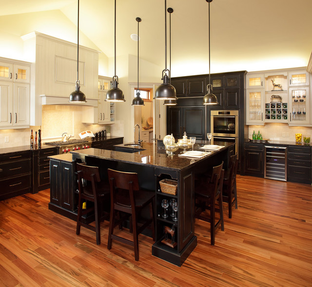 Modern Kitchen Design Calgary: Traditional Kitchen Meets Rustic Charm