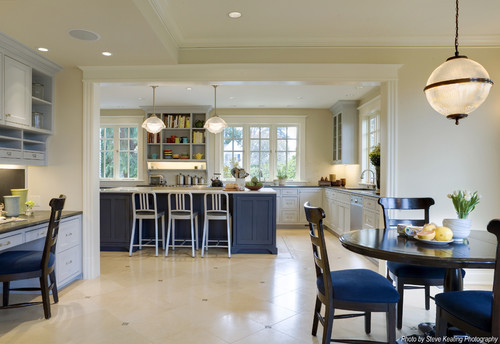 traditional kitchen design by seattle architect knowles ps