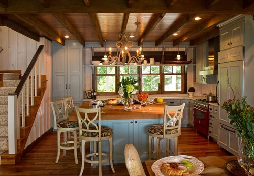 Favorite Colored Kitchen Cabinets - Robin Egg Blue