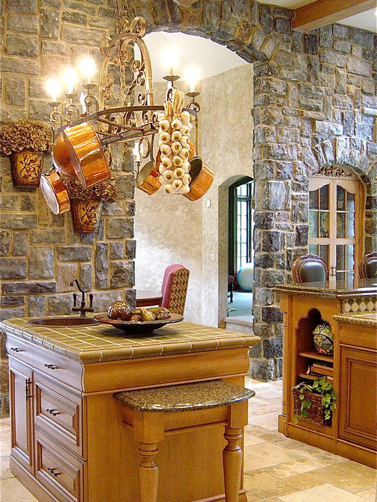 Interior Stone Wall Design Ideas, Pictures, Remodel, and Decor