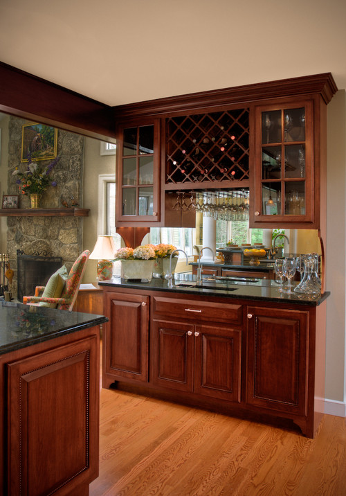 what are the dimensions length of wet bar and size of wall cabinets?