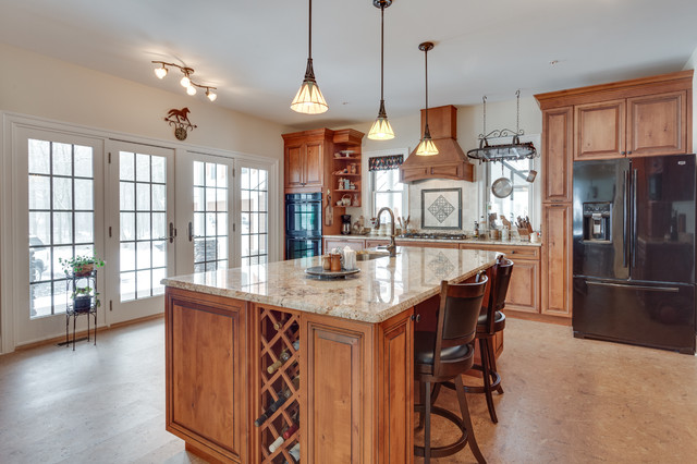 Traditional Kitchen Remodel Beallsville MD Traditional Kitchen Dc Metr