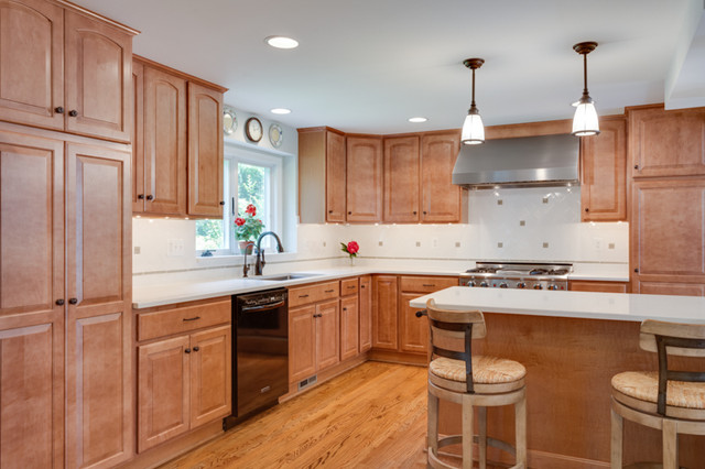 Traditional Kitchen Remodel Columbia MD Traditional Kitchen Other Metr