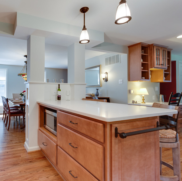 Kitchen Cabinets Md: Traditional Kitchen Remodel Columbia, MD
