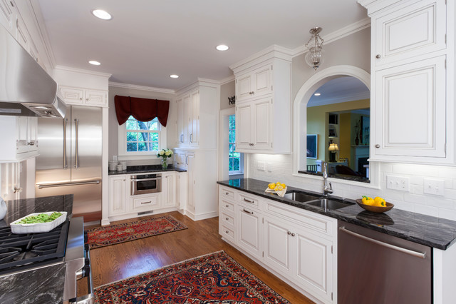Traditional Kitchen Remodel - Traditional - Kitchen - charlotte - by ...