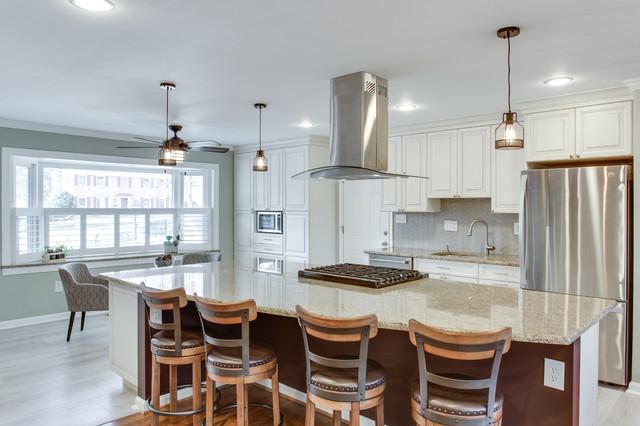 Traditional Kitchen Remodel Gaithersburg MD By Reico Kitchen Bath Tr