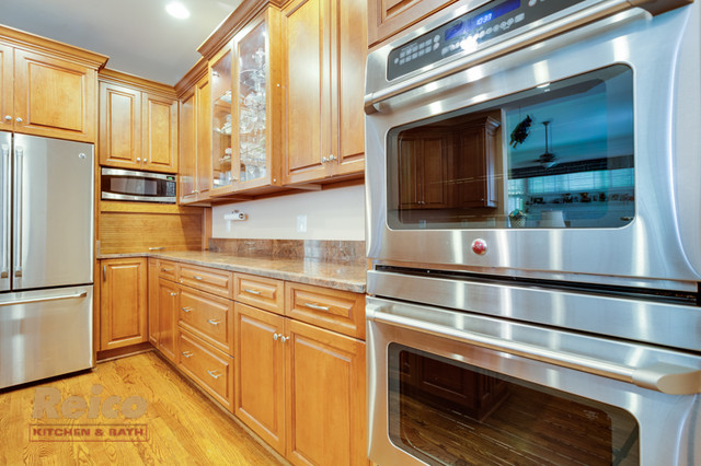 Traditional Kitchen Remodel In Rockville MD Traditional Kitchen Dc Met