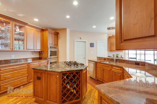 Traditional Kitchen Remodel In Rockville Md Traditional Kitchen Other By Reico Kitchen