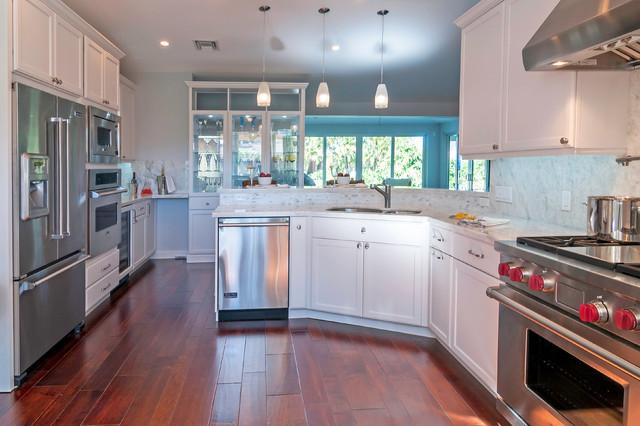 Traditional Kitchen Remodel Miami FL