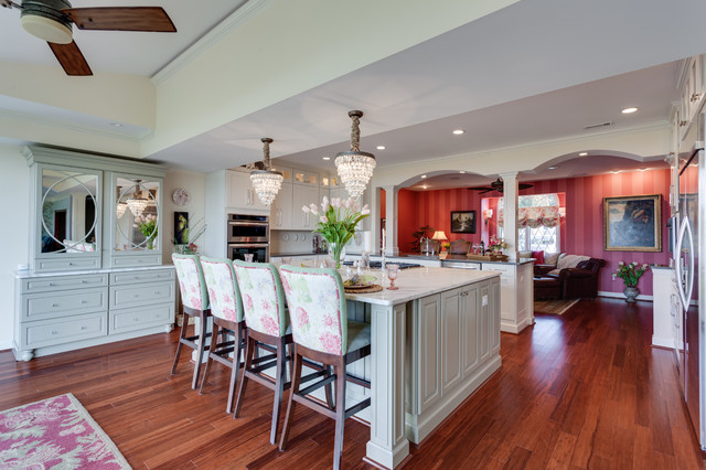Traditional Kitchen Remodel Port Tobacco MD Traditional Kitchen Dc Met
