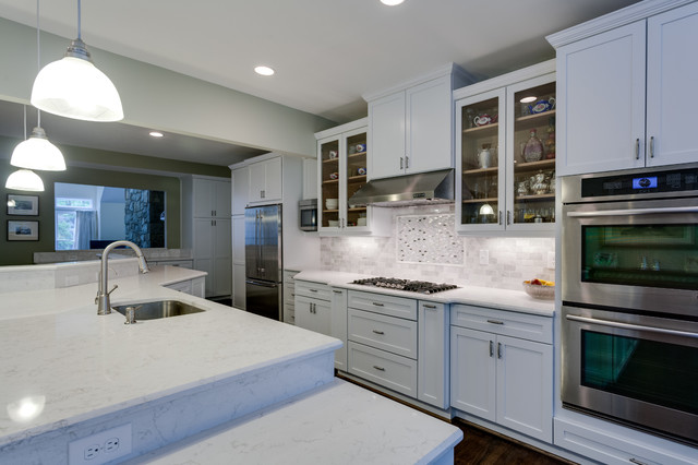 Traditional Kitchen Remodel Potomac MD Traditional Kitchen DC Metro