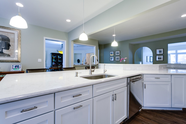 Traditional Kitchen Remodel Potomac MD Traditional Kitchen