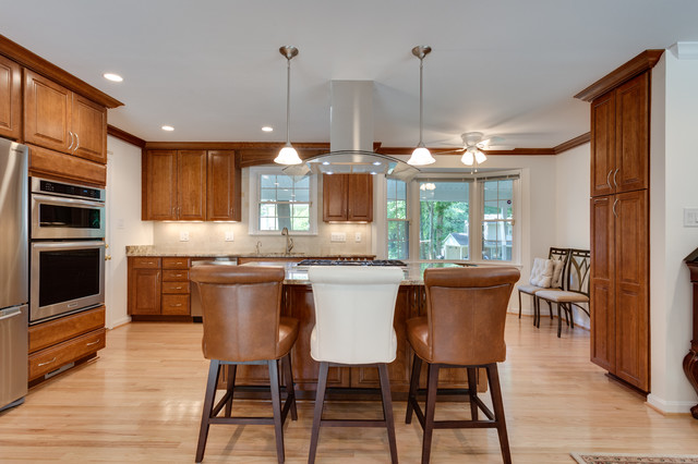 Traditional Kitchen Remodel Springfield, VA - Traditional - Kitchen ...