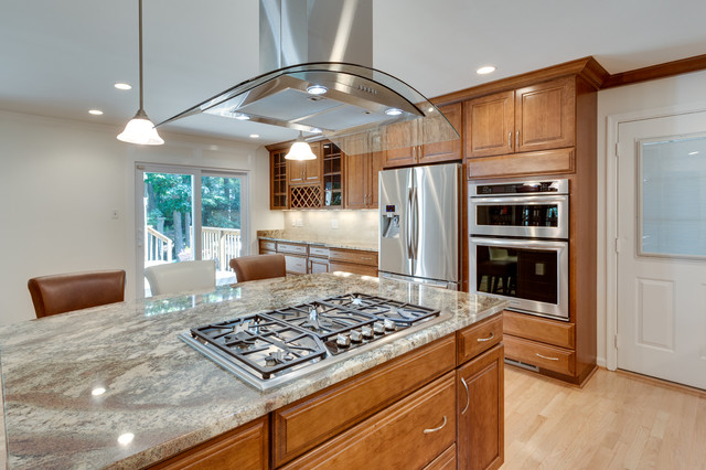 Traditional Kitchen Remodel Springfield Va Traditional Kitchen Dc Metro By Reico