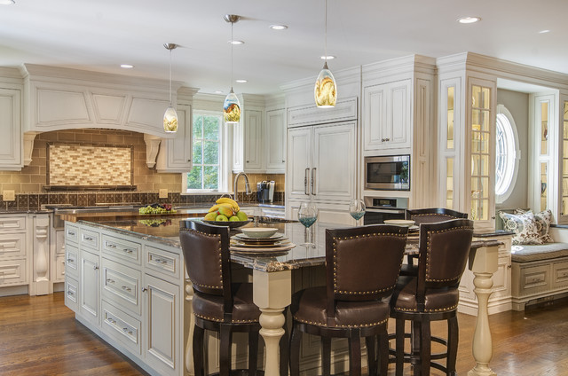 An elegant addition woodbridge ct traditional for Elegant traditional kitchens