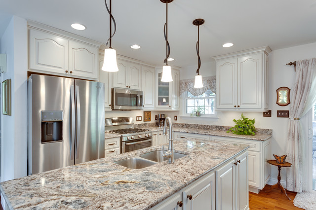 Superb Traditional Kitchen Remodel Woodbridge, VA Traditional Kitchen
