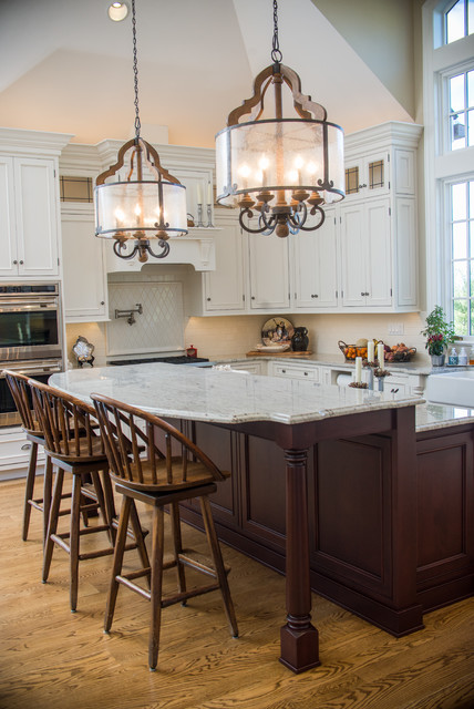 Traditional Kitchen - Traditional - Kitchen - baltimore - by Rojahn Custom Cabinetry