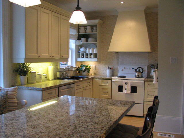 by SANDRA HOWIE AND HARDROCK CONSTRUCTION traditional kitchen