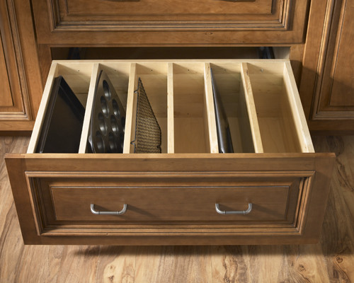 traditional kitchen Clever Kitchen Storage Solutions