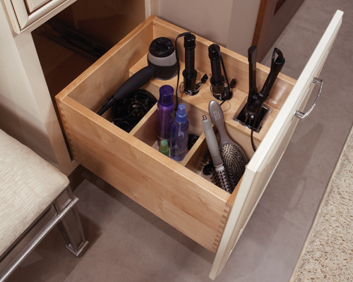 Having trouble organizing shared spaces? Get practical tips and ideas for creating His and Hers Bathroom Cabinet Organization at www.mrshinesclass.com