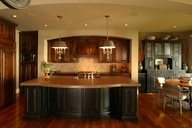 Lake minnetonka home traditional kitchen minneapolis by sharratt design company - Kitchen design minneapolis ...