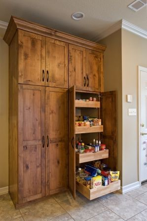 Pantry- Pull Out Vs. Door with Attached Storage