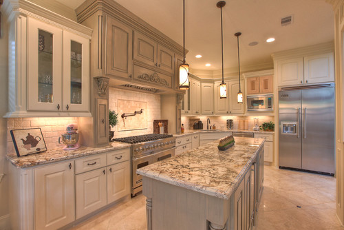 How can you white wash oak cabinets for White oak cabinets kitchen
