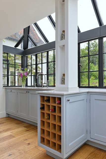 Traditional kitchen surrey transitional kitchen for Kitchen cabinets surrey