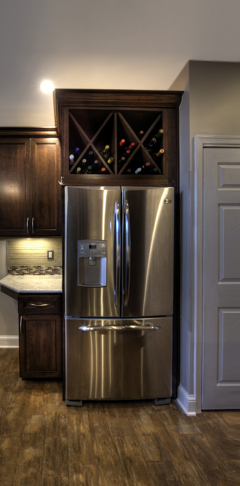 Inspiration for a timeless kitchen remodel in DC Metro with granite countertops