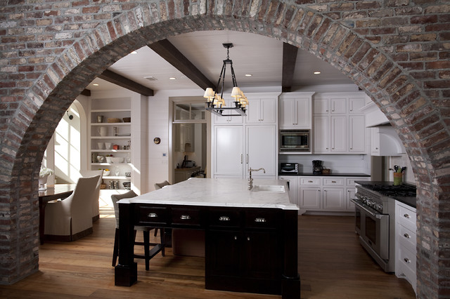 Hatton Lane Residence - Frederica - Saint Simons Island, GA traditional-kitchen