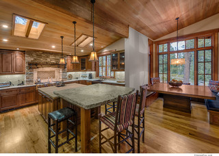 Vintage Tahoe - Traditional - Kitchen - sacramento - by Ward-Young Architecture & Planning ...
