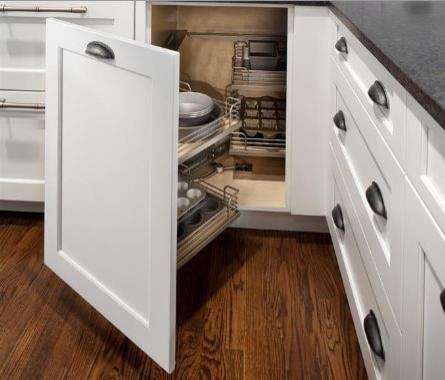 Custom storage Ideas | Interior Cabinet Accessories from Greenfield Cabinetry - Traditional ...