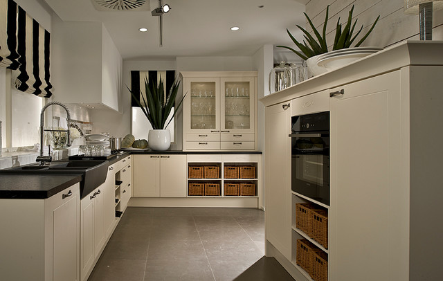 Modern Traditional Kitchens traditional kitchen with a modern twist - contemporary - kitchen