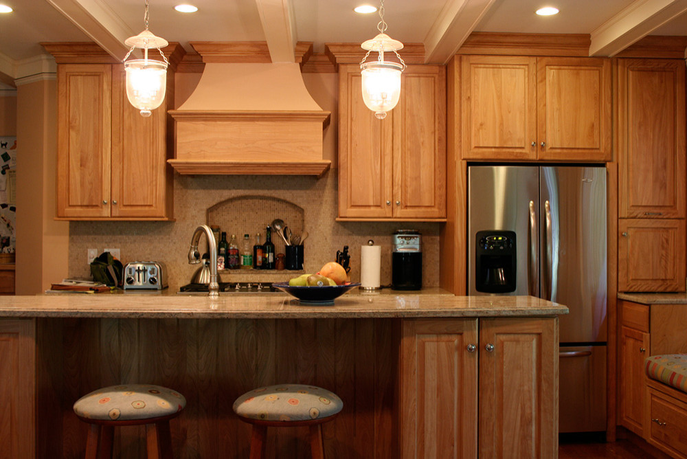 Red Oak Kitchen Cabinet Houzz